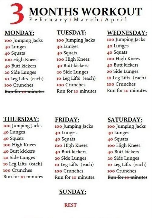 The 25+ best Teen workout plan ideas on Pinterest ...