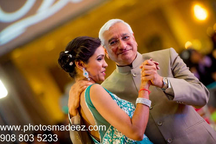 father daughter dance for indian wedding reception at