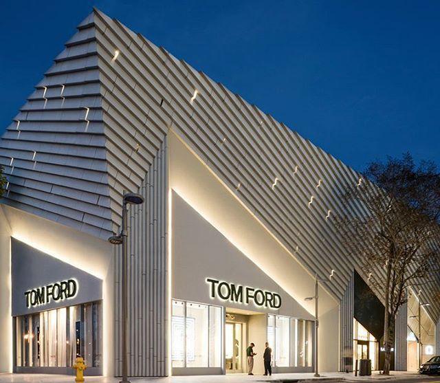 @tomford Concept Store, ArandaLasch Architects, Miami Design District - US #camilakleinarquiteta #compartilhandoexperiencias #miamidesigndistrict #designmiamibasel