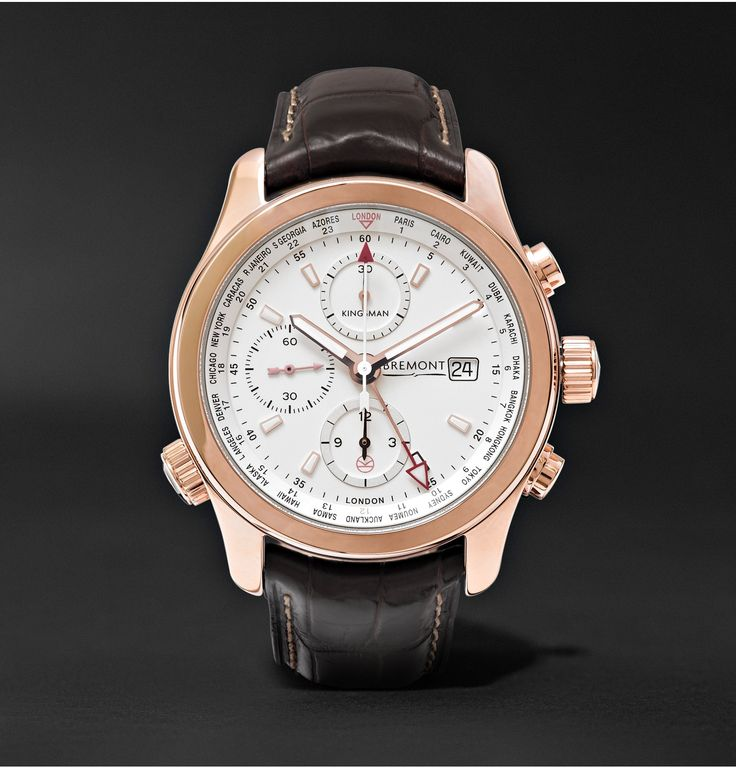 The <a href='http://www.mrporter.com/Shop/Designers/Bremont'>Bremont</a> 'World Timer' automatic chronograph is an impressively intricate watch, but this utilitarian piece doesn't compromise on sophistication. Originally created for C17 pilots, no less than 24 timezones can be read off the internal rotating bezel and the custom-modified automatic chronograph movement ensures accuracy. Crafted specially for <a href=&#39...