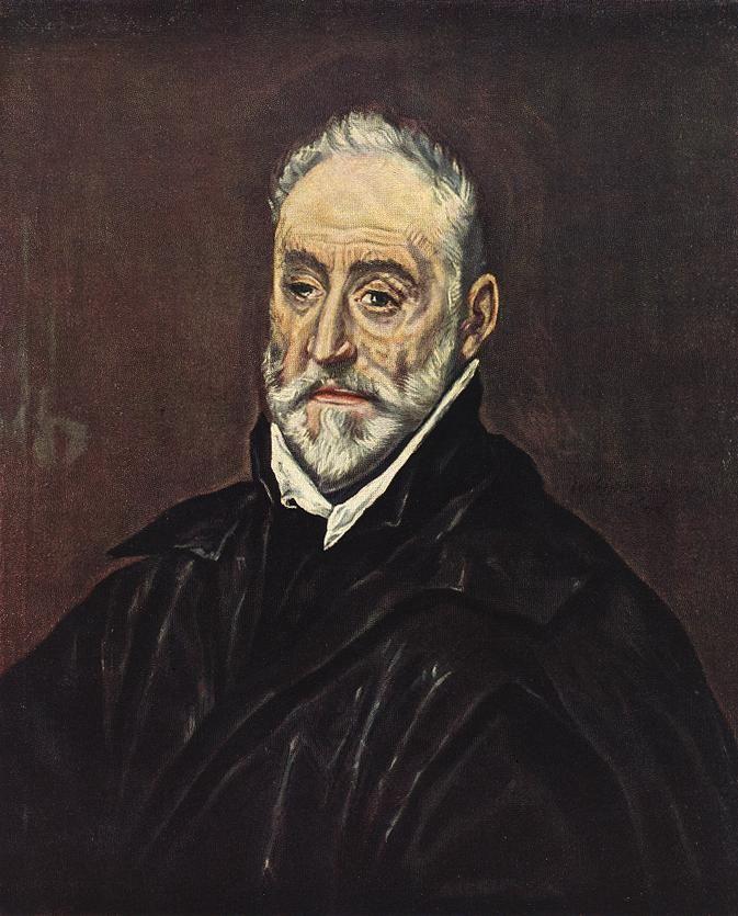 El Greco - Retrato de Antonio de Covarrubias (1595-1600)