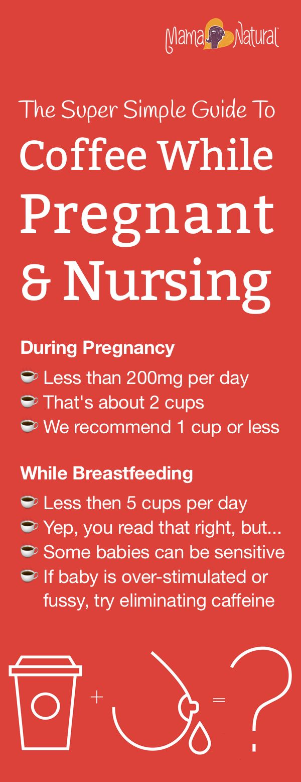 Drinking Too Much Caffeine While Breastfeeding