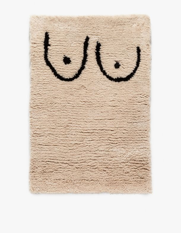 Private Parts Rug 100% rug with attitude.