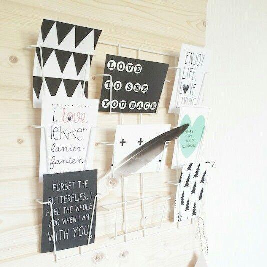 YOU'RE MY KIND OF WONDERFUL! Mooie foto van Birte met de mint-kleurige kaart uit de shop van Studio Catootje. (www.studio-catootje.nl)