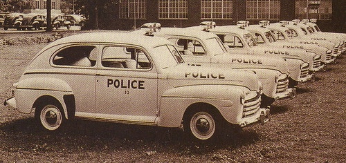 New Ford Police Cars [1946]