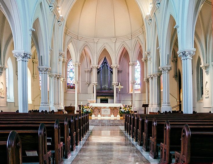 St Thomas Church at Villanova University, Radnor, PA