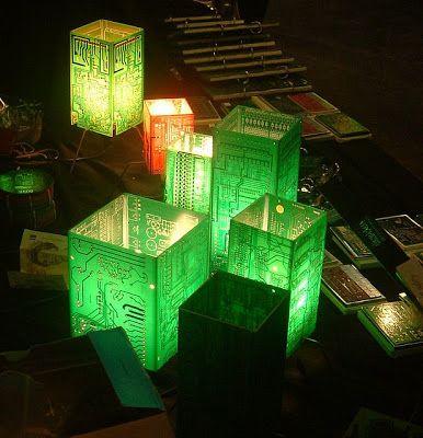 20 best tech diy repurposing images on pinterest recycling rh pinterest com Tail Light Circuit Board Circuit Board Recycling