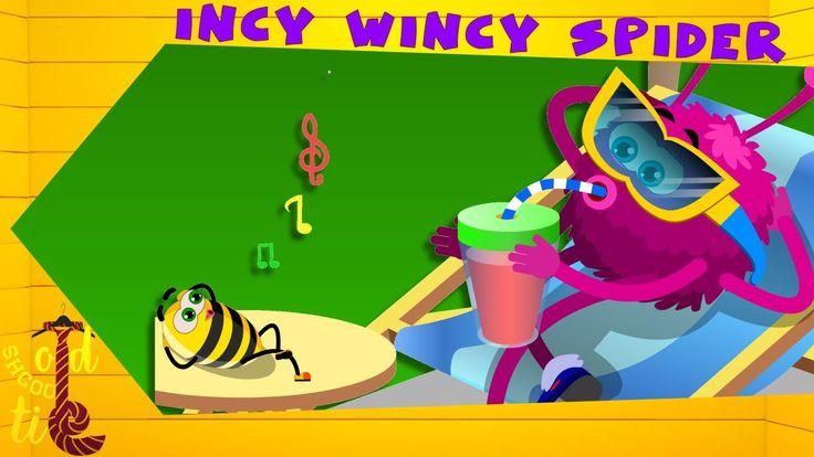 Old School Tie | Incy Wincy Spider | nursery rhymes | kids rhymes | babi...