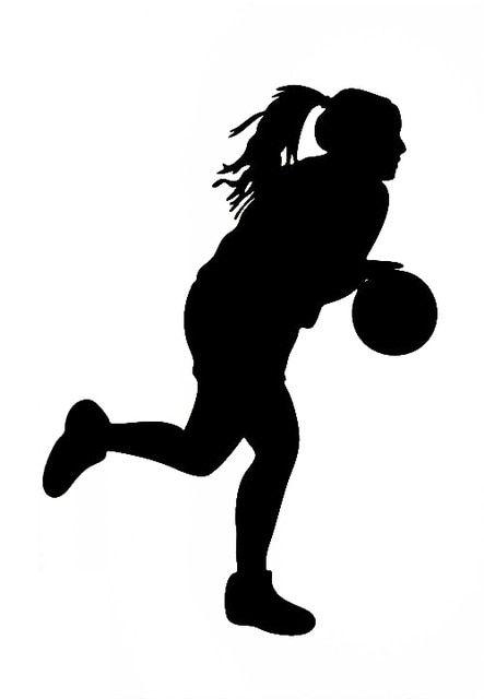 Картинки по запросу баскетбол женский силуэт | Женский ...