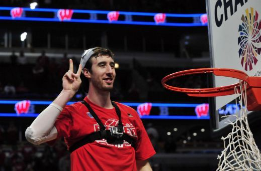 Frank Kaminsky and Wisconsin have fun with first No. 1 seed in school history - Yahoo