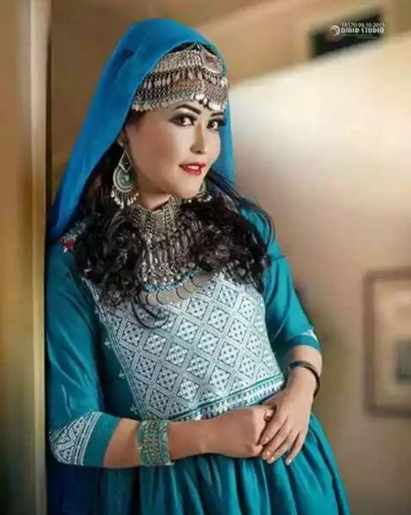 HAZARAGI CULTURAL DRESS AND JEWELRY by AkhtarSharifi