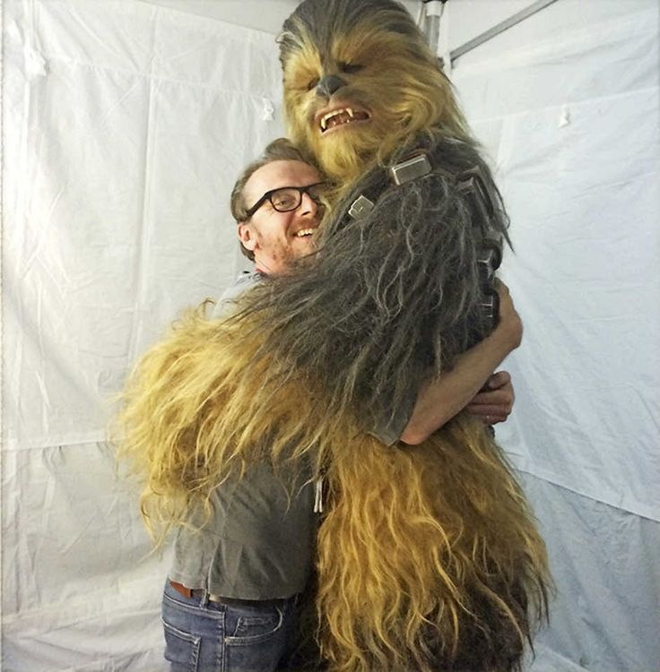 The Force is with him -Simon Pegg writing about Star Wars - The Force Awakens
