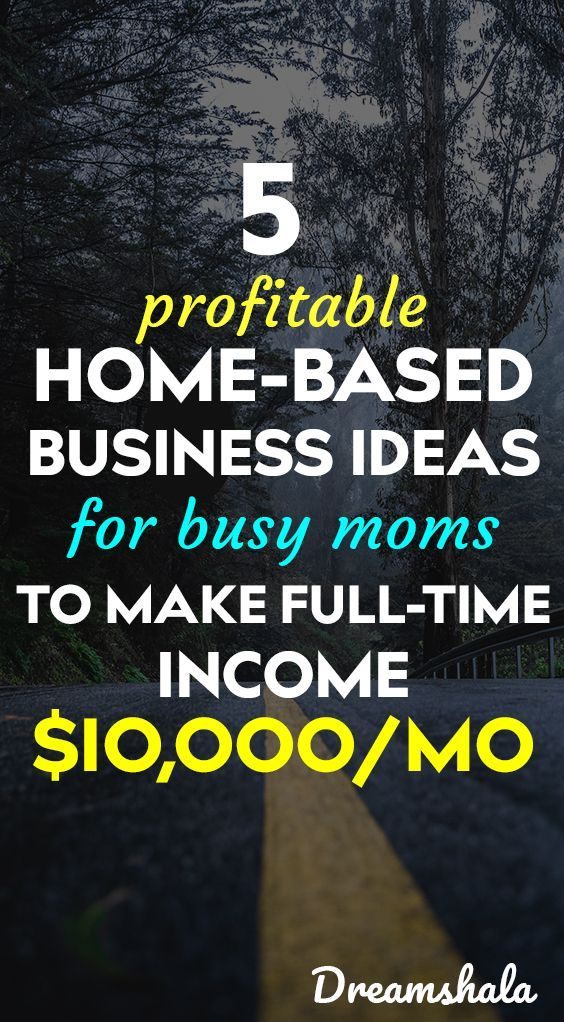 5 Lucrative Home Business Ideas for Women in 2019 | Work