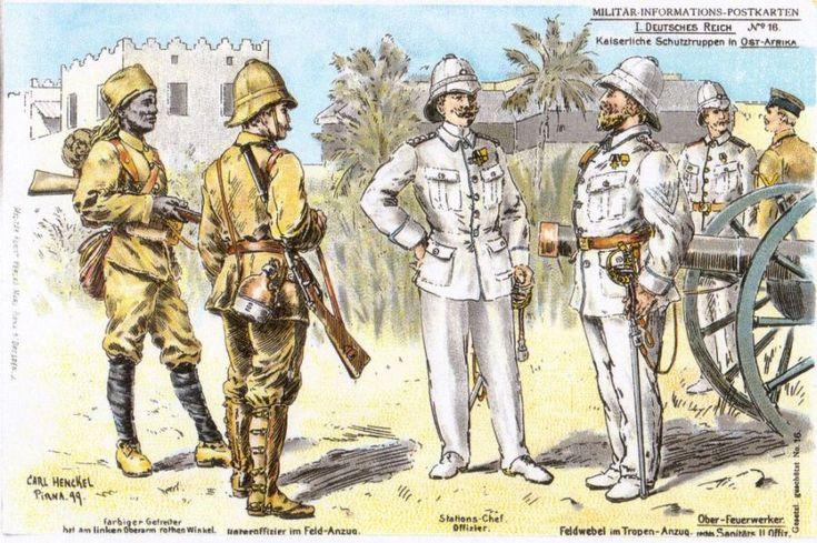 Kaiserliche Schutztruppen in Ost-Afrika