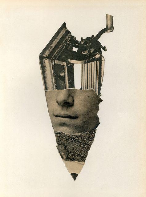 Sacapunta / Pencil sharpener, collage by Richard Vergez