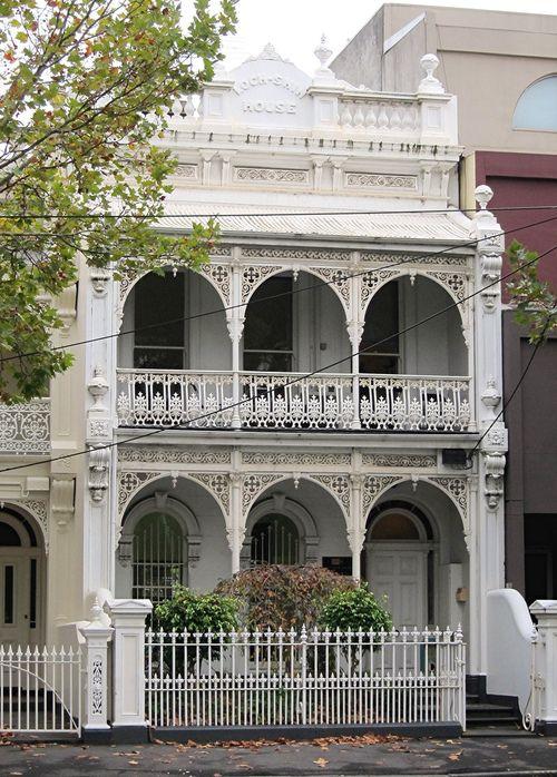 A Melbourne Terrace house