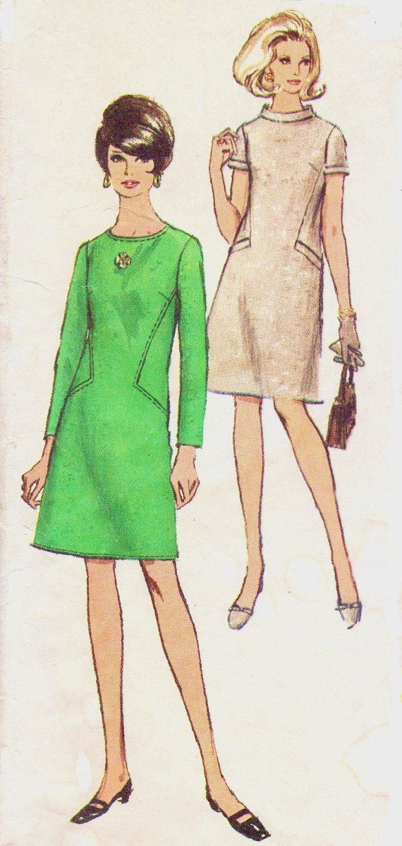 1960s Vintage Simplicity Sewing Pattern 7193 Womens by CloesCloset, $13.00