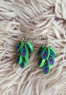 Temporibus: Quilled Jewellery / Κοσμήματα με quilling