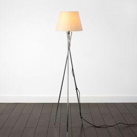Tesco direct: Camden Tripod Floor Lamp, Chrome