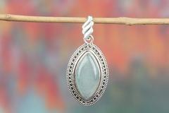 AWESOME HANDMADE AQUAMARINE GEMSTONE 925 SILVER PENDANT $13.99 https://www.brillantejewelry.com/collections/pendants/products/awesome-handmade-aquamarine-gemstone-925-silver-pendant