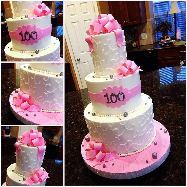 34 Best 100th Birthday Cakes Images On Pinterest