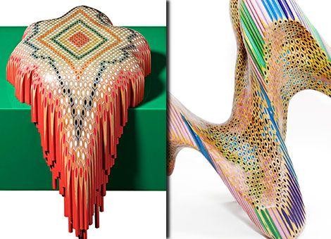 Γνωρίστε τον Αυστραλό Καλλιτέχνη Lionel Bawden! Γλυπτική με Μολύβια!
