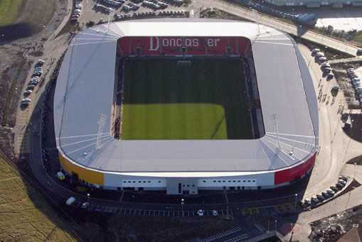 Keepmoat Stadium - Doncaster Rovers FC - Doncaster, England