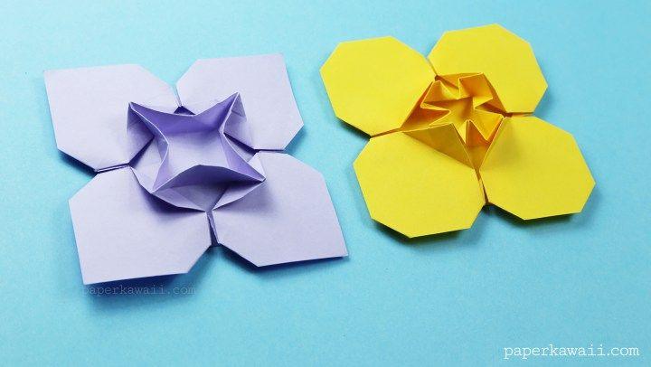money origami flower instructions