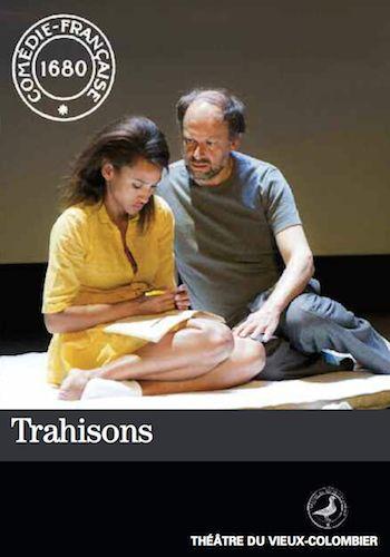 Trahisons au théâtre du Vieux Colombier ... Harold Pinter. xcellent :)