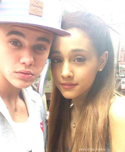 Justin Bieber Emily's favorite singer & Ariana Grande Ellie's singer.
