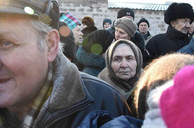 Ъ-Фото - Здесь было Дебальцево
