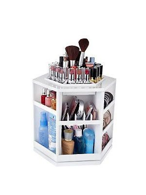 Say goodbye to #makeup mishaps with this amazing bedroom #organizer!