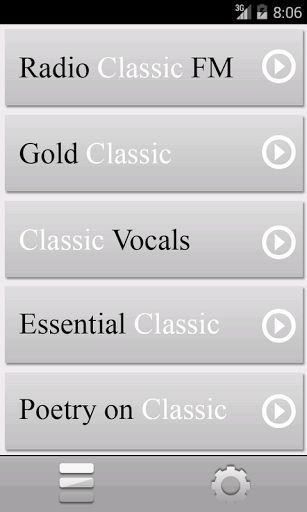 Radio Classic App gives the opportunity to enjoy classical music, chosen in a variety of genres. A live webcast of the Moscow radio station Classic Radio 100.9 FM now on your Android device. Also presented to your attention around the clock broadcasts of the three categories of classical music in addition to reading the immortal works of world literature. <br>Radio Classic App is: <br>- online translation of Moscow broadcast Radio Classic 89.1 FM + 3 categories of classical music + poetry…