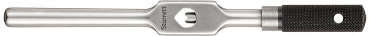 "Starrett 91B Tap Wrench, 3/16"" - 1/2"" Tap Size, 5/32"" - 9/32"" Square Shank Diameter, 9"" Body Length"