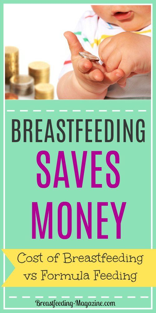 breastfeeding vs formula Breastfeeding not only allows you to save more money, but it also offers a long list of health benefits that formula feeding couldn't.