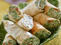 Rezept: Spinat-Käse-Wraps