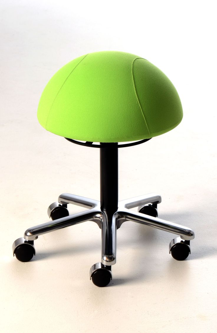 "The Officino Sit Ball Chair is the latest addition to our sit ball range, It can assist in toning up your core muscles whilst at work. With a new ""Firm feel"" seat to increase feedback to the buttocks while seated #seated #officino #ball #chair seated.com.au"