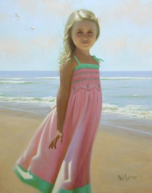 Children's Eyes - Paintings by Brian Neher | Cuded