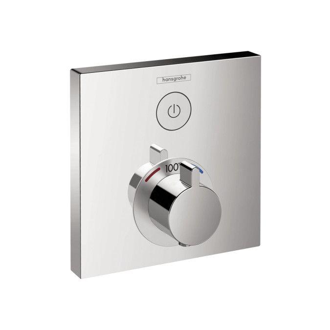 Hansgrohe 15762001 Chrome ShowerSelect Thermostatic Valve Trim