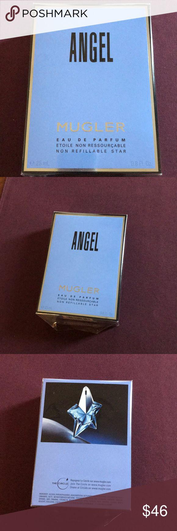 ANGEL EAU DE PARFUM. Angel Mugler EAU De Parfum. 0.8 FL oz. Brand new in box. Lovely scent! Angel by Thierry Mugler Makeup