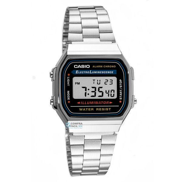 Reloj Casio Vintage A168 Plata – Relojes Casio en México | CompraFacil.mx