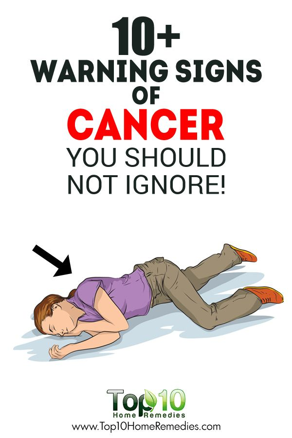 10+ Warning Signs of Cancer that People often Ignore!