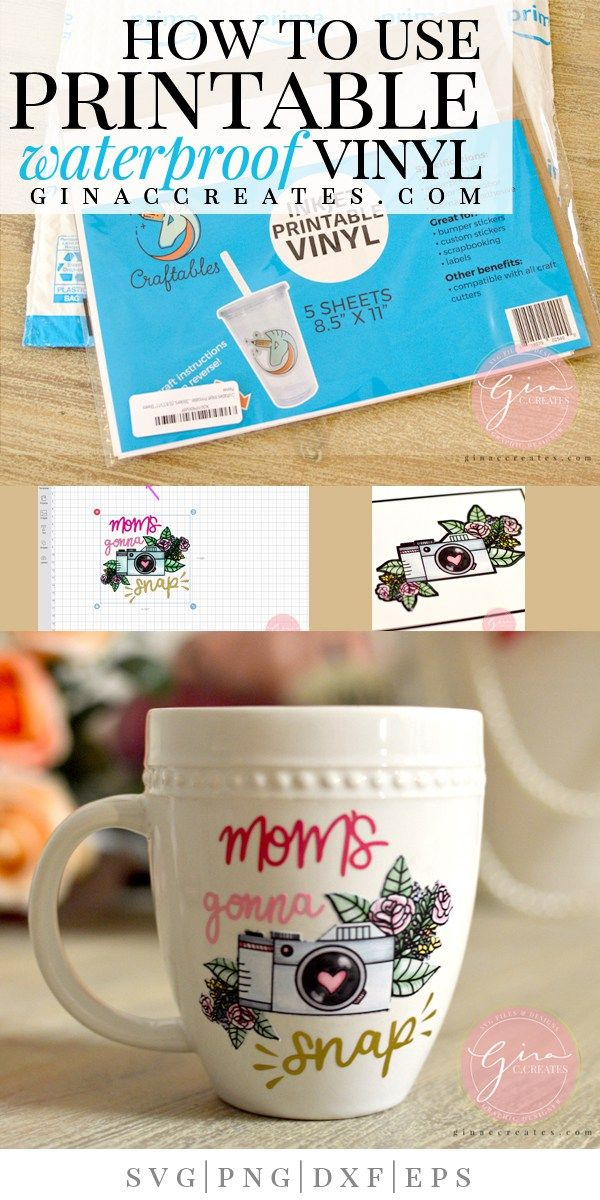 Persnickety image for is cricut printable vinyl waterproof
