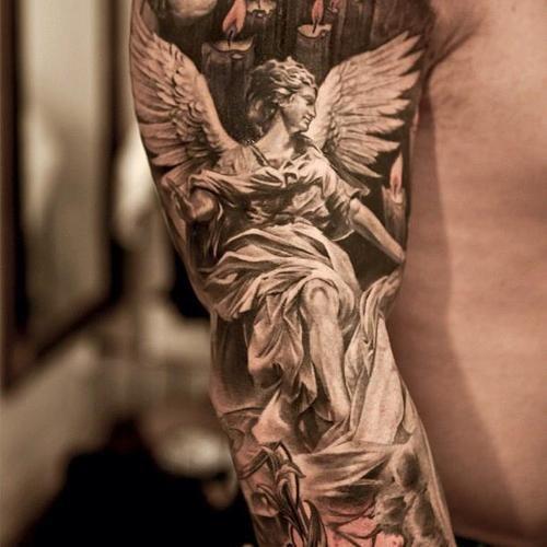 //Angel //Sleeve //Tattoo