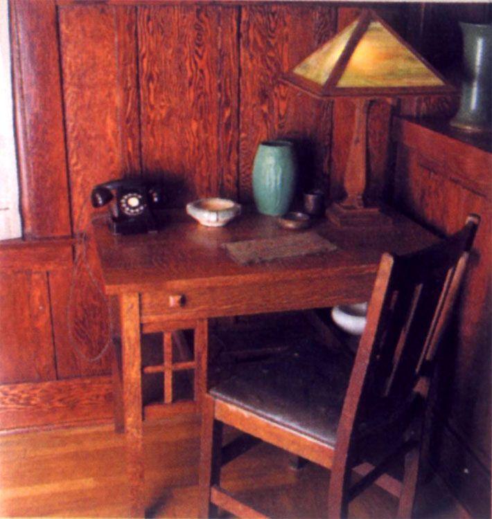 craftsmen office interiors. Interior \u0026 Architecture Designs: Old Corner Office Table With Classic Telephone Craftsman Style Interiors, Craftsmen Interiors