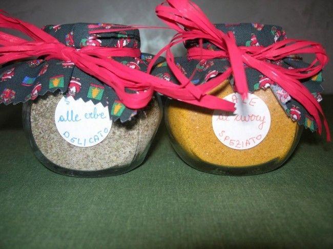 Vasetti di sale aromatizzato alle erbe: idea regalo | CuciniAmO