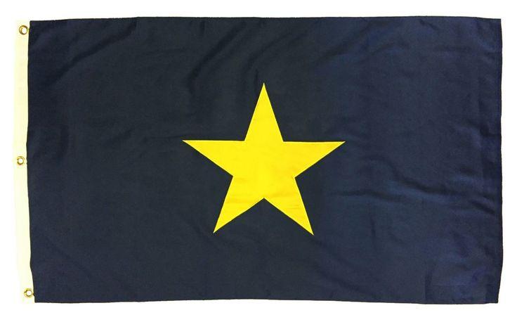 Burnet's 1st Texas Republic Flag 3x5 2-Ply Polyester - IAmEricas Flags