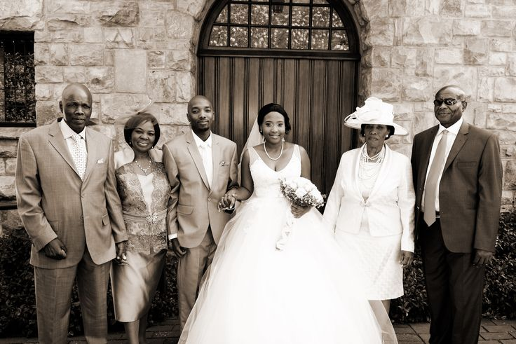 Mr and Mrs Matabane with the parents