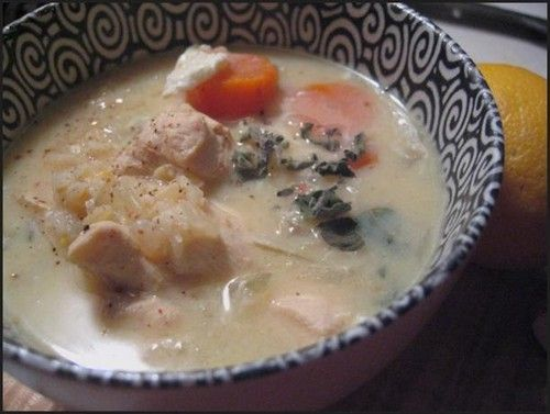 lemony chicken soup 110 calories