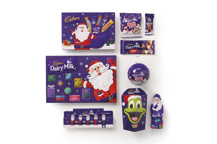Cadbury Christmas Range — The Dieline - Branding & Packaging